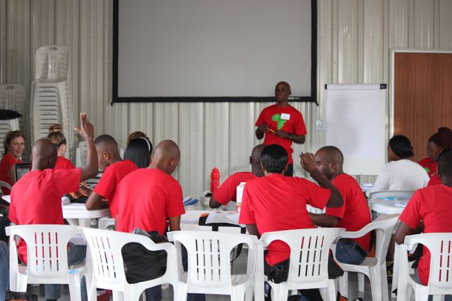 TLC Training and Building in Words plus Pictures