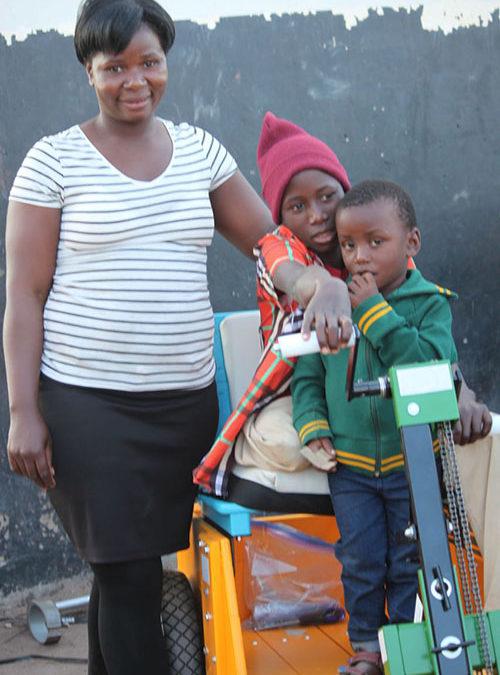 When a Liswati Boy Loses His Leg…