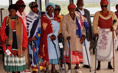 Walking Sticks Keep Elderly Emaswati Mobile—and Grateful