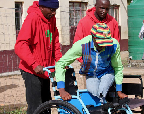Njabuliso Lives Above, and Beyond, His Limitations