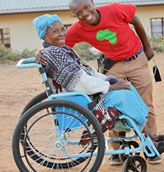 Wheelchair Will Enhance Her Body and Mind
