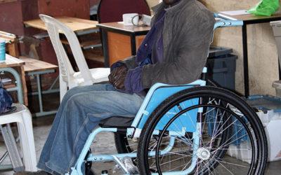 Lamula's Wheelchair Makes Him Feel Like a Strong Man