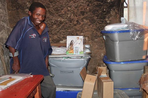Grateful Sizwe Keeps His TLC Job Close and Handy