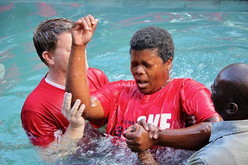 Baptism Joy!